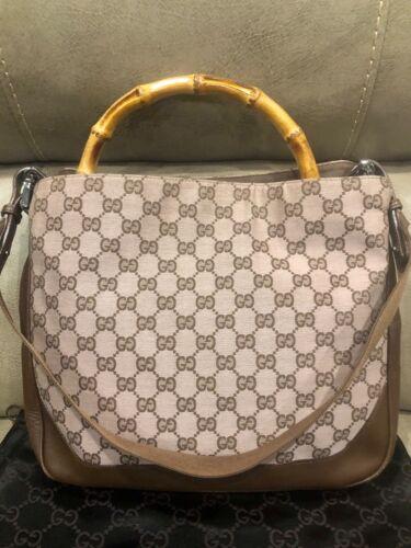Authentic Gucci Vintage Handbag - Bamboo Handle +