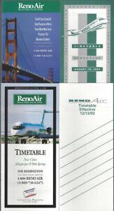 Reno-Air-timetable-lot-4-1993-1996