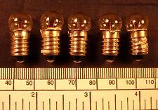Bulb1,5 volt - 200 mA M.E.S.(E 10 screw) - pack of 5