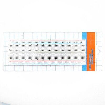 MB-102 Solderless Breadboard Protoboard 830 Tie Points 2 buses Test Circuit Mini