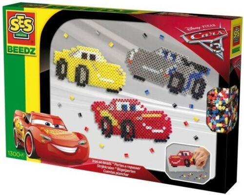 SES Beedz Disney Cars 3 Bügelperlen 1300 Stück Kreativset