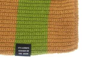 8a470b3caa6 O Neill Knit Scarf Scarf Mafia Green Striped Knitted Knitted Clothing