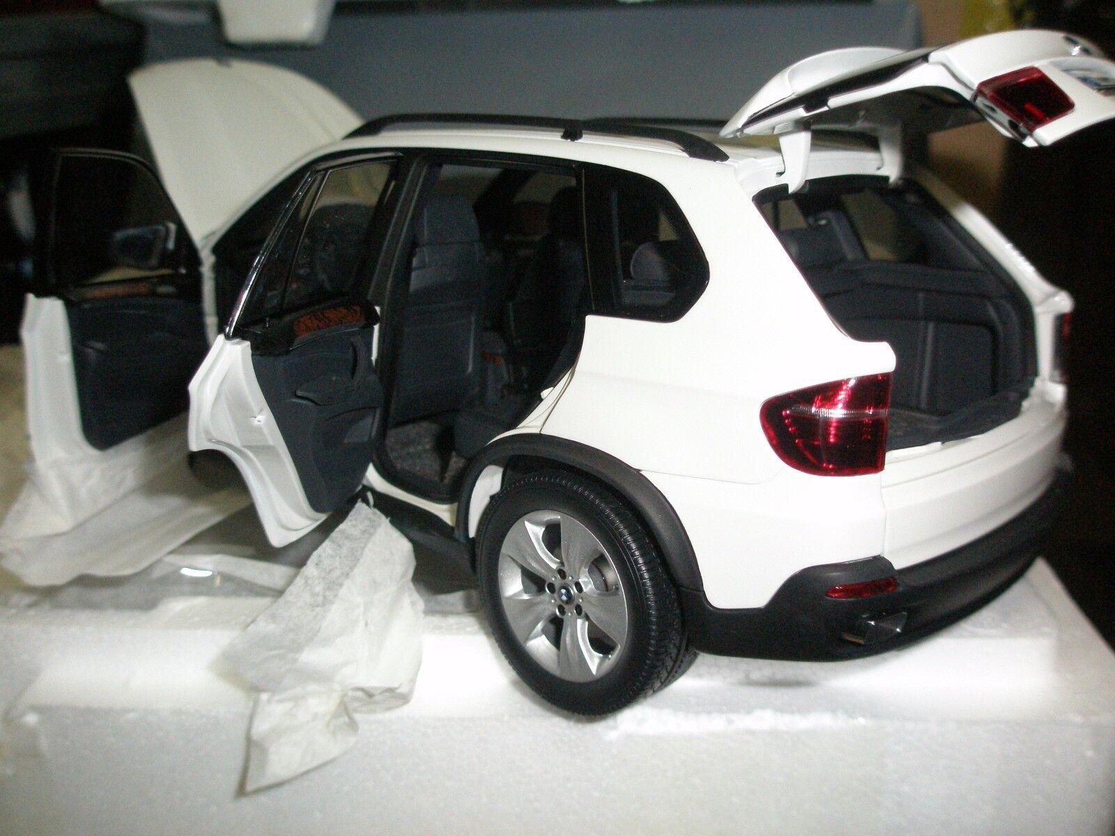 80432153612 DEALER KYOSHO 1 18 BMW X5 4.8i WHITE NEW SHIPPING WORLDWIDE