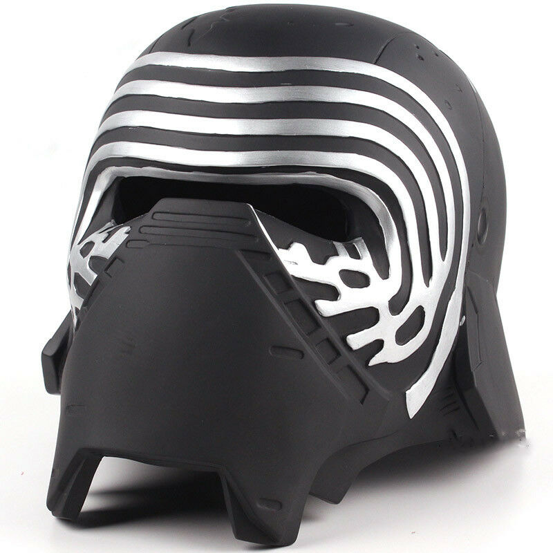 Star Wars Kylo Ren Adult Cosplay Resin Mask Helmet Figure Collectible Model Toy