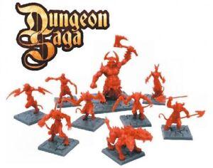 Dungeon-Saga-Nuevo-y-en-caja-habitantes-del-abismo-Miniaturas-Set-Warhammer-Reyes-de-Guerra