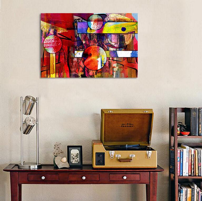 3D Farbe, Kunst, Malerei 54 Fototapeten Wandbild BildTapete Familie AJSTORE DE