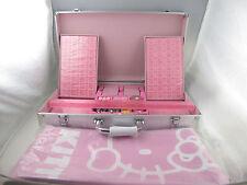 Hello Kitty Mahjong Set Regular Size with Tablecloth Aluminium Case NEW