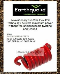 Details about 8980 Earthquake Isovibe Flex Coil Shock Spring Replacement 6
