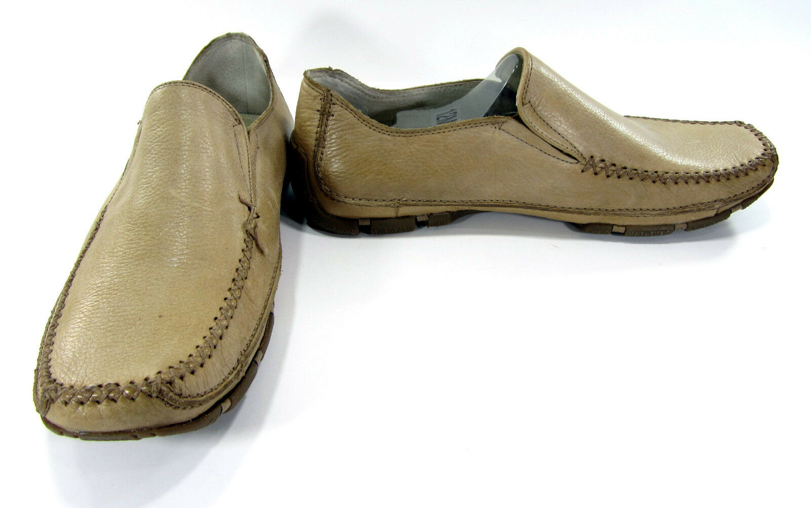 GBX shoes Havana Loafer Leather Tan Light Brown Dress Size 12