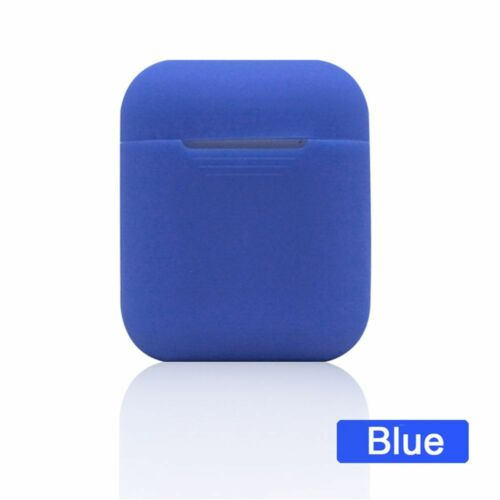 Earphones Pouch Sleeve Wrap Silicone Case Skin Cover Protective for AirPods