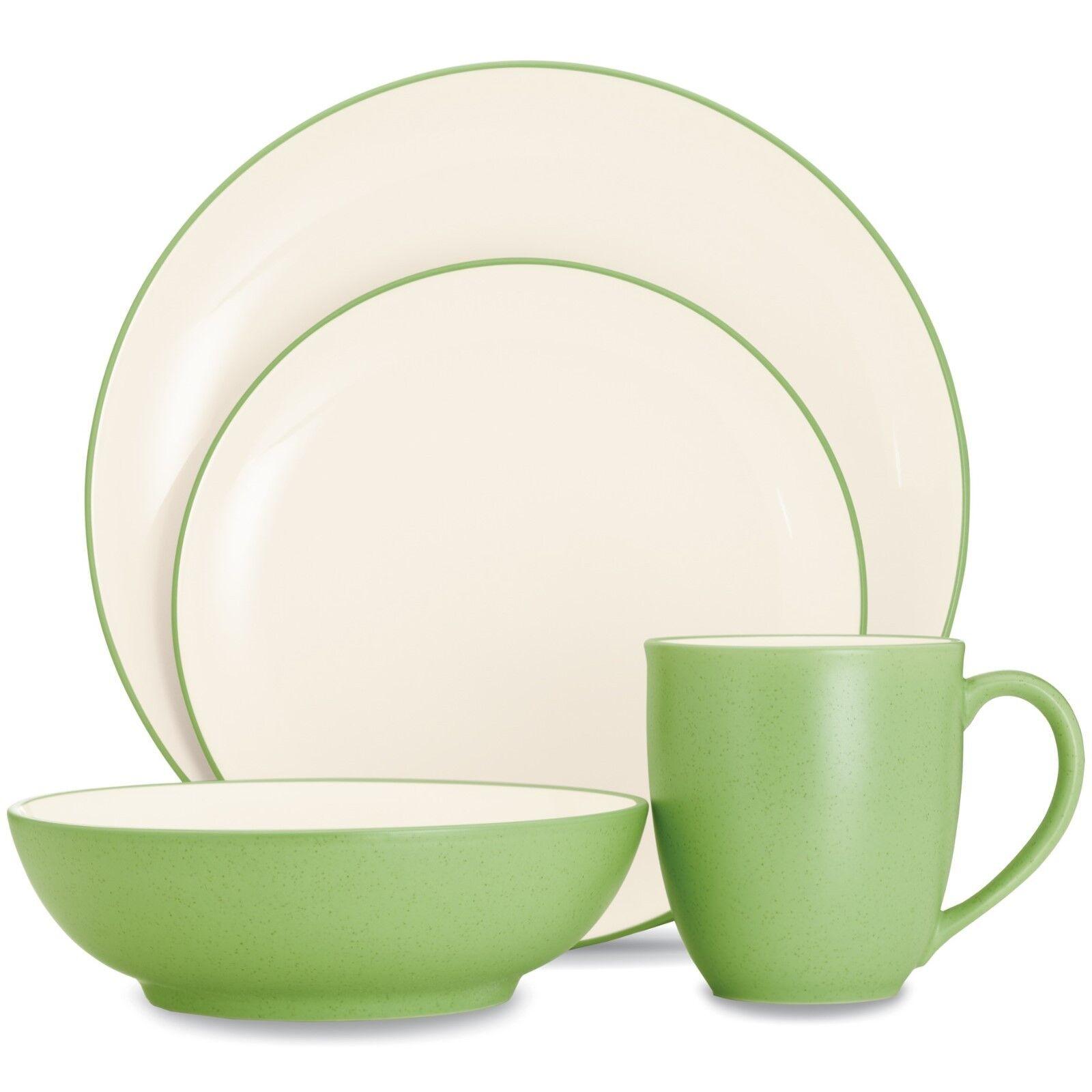 Noritake Couleurwave Apple Coupé 32Pc Dinnerware Set, service pour 8