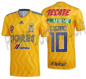 754dec012a6 Image is loading ADIDAS-ANDRE-PIERRE-GIGNAC-TIGRES-UANL-HOME-JERSEY-