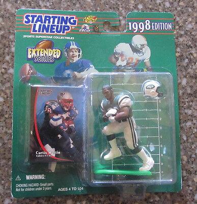 Starting Lineup 1998 Edition Curtis Martin New York Jets Uniform Brand NEW