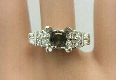 18kt Oro Giallo E Anello Di Fidanzamento Con Diamanti Cinturino 1.00 Kt Semi