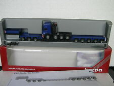 Herpa 1:87 MB SK 94SZ Schwertransport Goldhofer (CA/368-25R5/1)