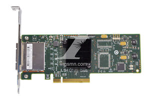 HP LSI SAS9200-8e-HP 6Gb//s SAS//SATA Dual Port SAS Host Bust Adapter 617824-001