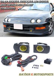JDM Projector Fog Lights Yellow Fits Integra Dr EBay - Acura integra fog lights