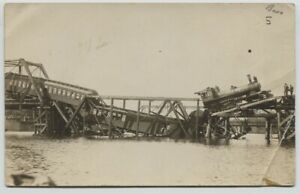1910-era-Chicago-Great-Western-Waverly-Iowa-Collapsed-Bridge-Real-Photo-RPPC