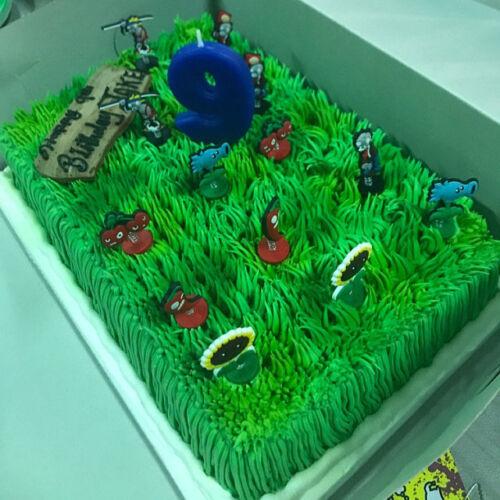"7 - pc Set Plants VS Zombies  Birthday Cake Toppers  1//4/""X 1-1//2/"""