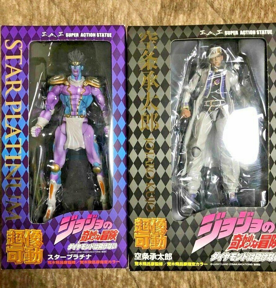 JoJo/'s Bizarre Adventure Jotaro Kujo Star Platinum Purachina Figure Plush Doll