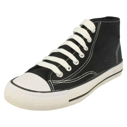 Shoes Black Men's Canvas Spot Sneaker Rise X0002 On Hi Up Lace qRntvCw
