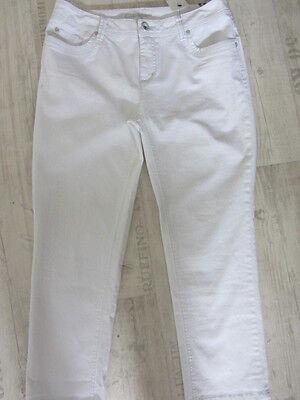 Street One Stretch Jeans GEORGIA W33/L26*7/8*Jeans NEU Straight Leg Fit Sli weis