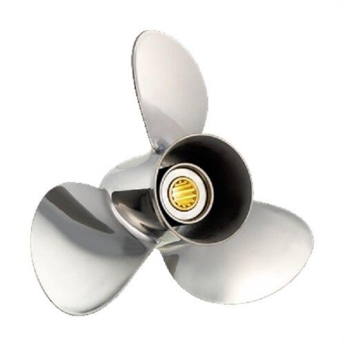 Solas 3431-138-13 13 3//4 x 13 Prop Stainless Steel 3 Blade RH