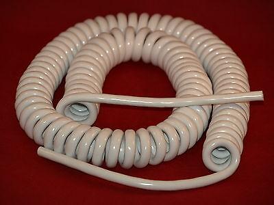 cerrado plomo longitud 1000 mm Kalestead en espiral Cable de red, 6 Amp Pvc//PUR NEGRO