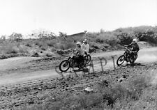 """Triumph Motorcycle 1960's Motocross Racing in California 11""""x17"""" Poster Photo 52"""