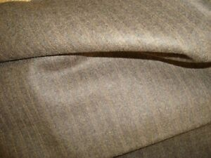 4-44-yd-English-Luxury-Wool-Cashmere-Flannel-Fabric-10-oz-Suiting-Brown-160-034-BTP