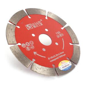 2Pc 5inch Diamond Circular Saw Blade Cutting Disc Wheel for Marble Granite Stone