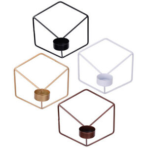 3D-Geometric-Candlestick-Metal-Nordic-Style-Wall-Candle-Holder-Sconce-Home-Decor