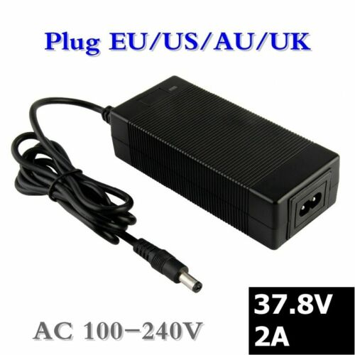 37.8V 2A Lithium Battery Charger for 9Series 33.3V li-ion battery Electric car