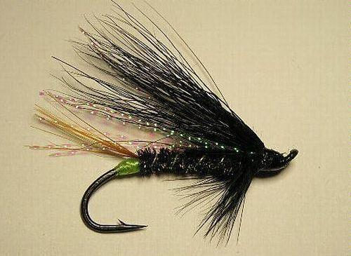 Steelhead Flies Glitter Bear size #4   Atlantic Salmon