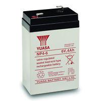 Yuasa 6v 4ah Sla Battery Replacement For Csb Gp640