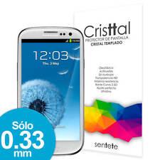 Sentete® Samsung Galaxy S3 Protector de Pantalla de Cristal Templado PREMIUM