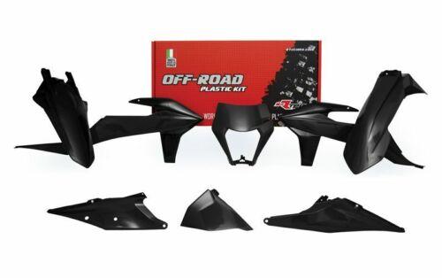 Racetech plastica completo set di parti in nero KTM EXC EXC-F 250 300 350 450 2020