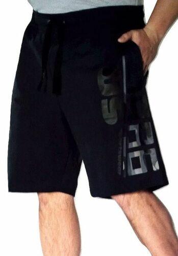 Shorts Uncle Sam Herren Sweatshort Fitnesshose kurz Grau