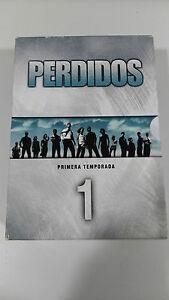 PERDIDOS LOST TEMPORADA 1 COMPLETA 8 DVD REGION 2 + EXTRAS CASTELLANO INGLES AM