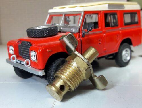 "Land Rover Series 2a 3 Radiator Engine Block Drain Tap Brass 602915 1//4/"" BSP"