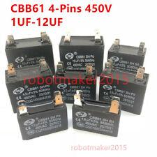 Cbb61 450v 1uf12152uf253uf3544556781012 Uf Capacitor 4 Pins