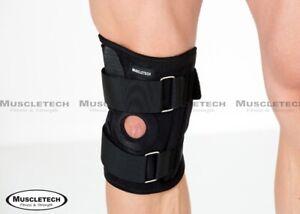 Fully-Adjustable-Flexible-Metal-Adjustable-Knee-Support-Stabilize-Brace-Strap