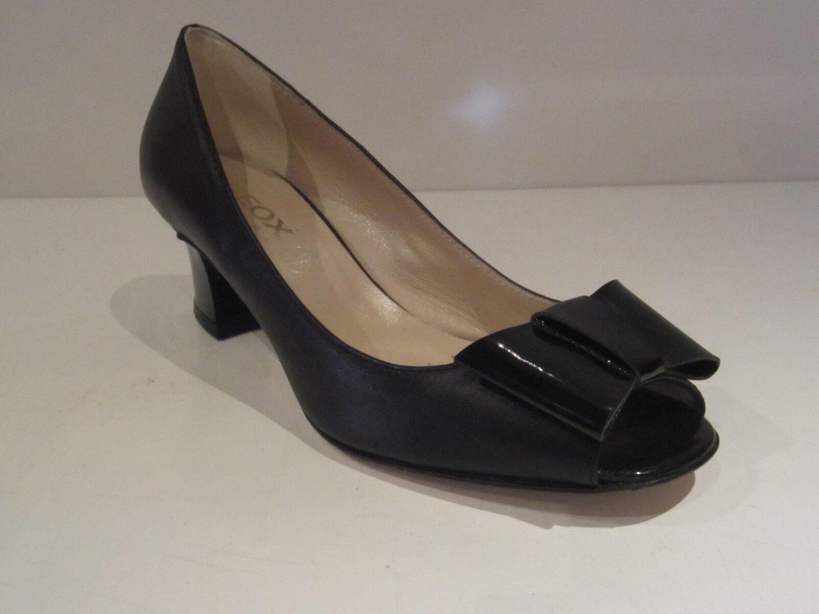 Geox D Mercury D  femmes escarpins en cuir noir neuf et scellé
