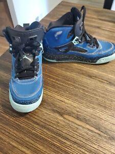 Nike 317321-400 Air Jordan Spizike Blue Basketball Shoes 👟 Size 6.5Y