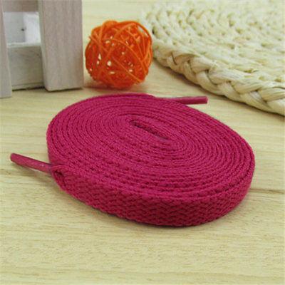 1 Pair Flat Fashion Canvas Shoes Athletic Unisex Shoelaces Shoe String Strap
