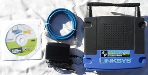 Linksys WRT54G V2 DD-WRT Tomato wireless Internet Access Point Repeater Bridge
