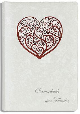 Stammbuch rot Mi Stammbuch de Familie Hochzeit Glänzend