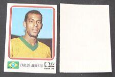 N°154 CARLOS ALBERTO BRESIL RECUPERATION PANINI FOOTBALL MÜNCHEN 74 MUNICH 1974