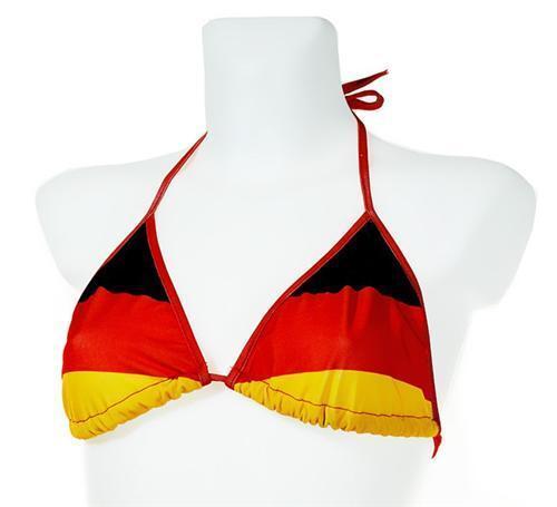 1x 2x 4x 8x BIKINI OBERTEIL Deutschland Fanartikel Sport Strand Schwimmen WM EM  | Üppiges Design