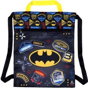 Batman drawstring backpack cinch bag Always be Batman